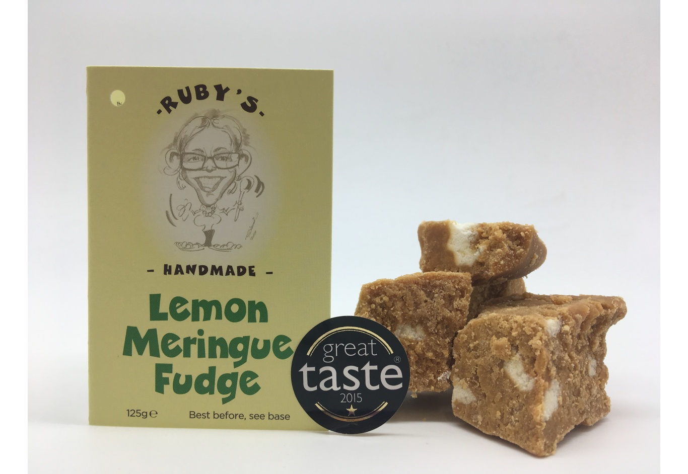 1Kg Box of Lemon Meringue Fudge