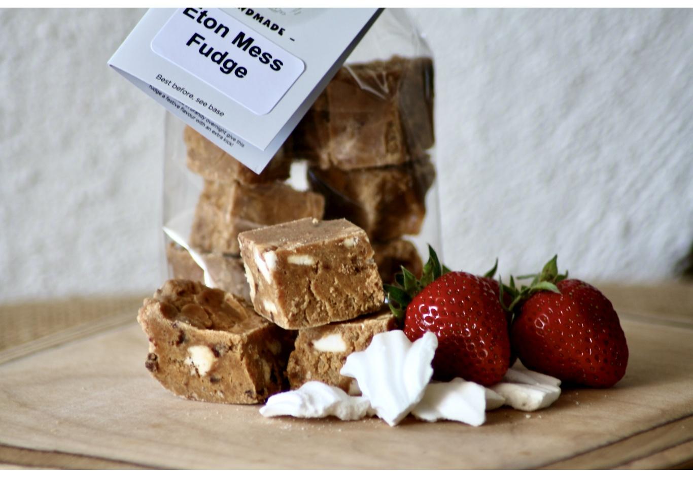 Eton Mess Fudge Gift Bag