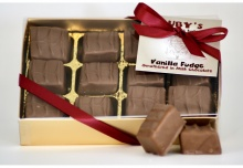 Vanilla Fudge Coated in Milk Chocolate