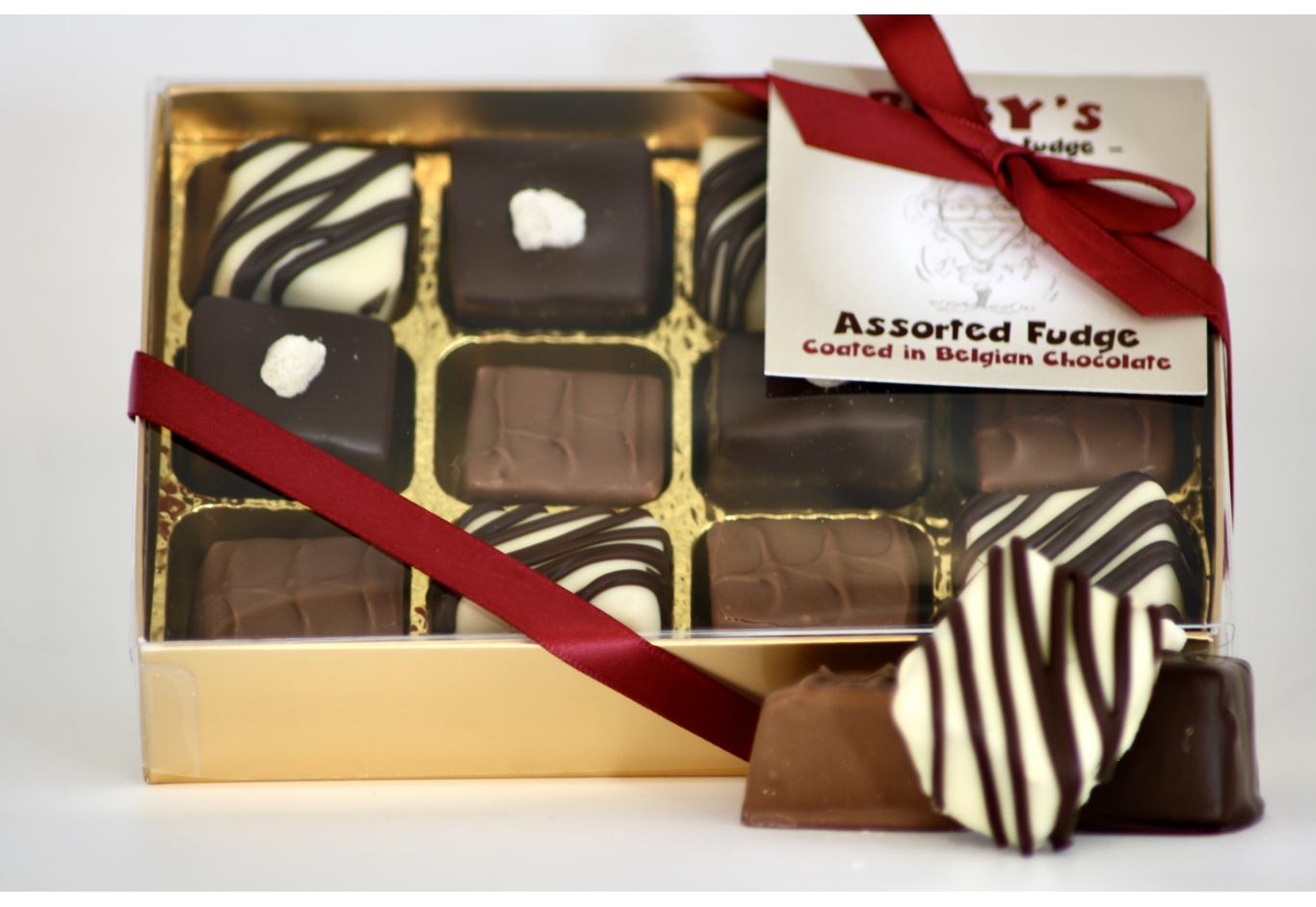 Chocolate Coated Fudge Assortment
