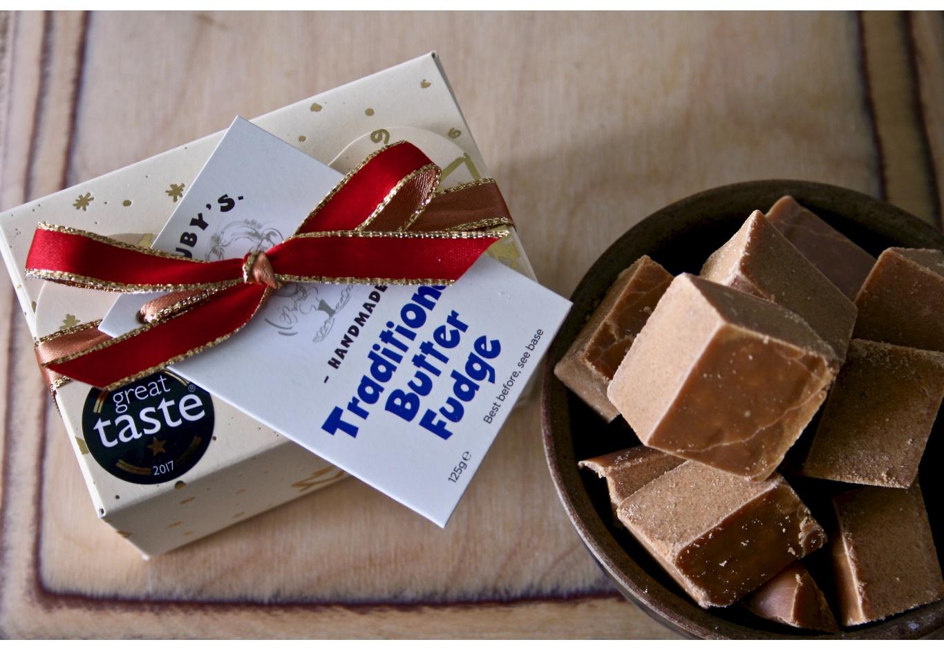 The Christmas Stocking Filler Fudge Gift Box